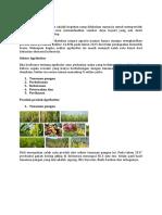 Pengertian Agrikultur