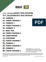 BODYCOMBAT 78 (BODYCOMBAT78ChoreographyNotes Row Es App Print.pdf)