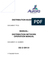 Manual Distribution Network Operation Manual