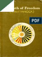 Path of Freedom Vimuttimagga. Arahant Upatissa