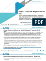 Conductive Polymer Market – Growth, Trends and Forecasts (2019 - 2025)