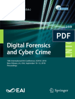 Digital Forensics and Cyber Crime 10th International EAI Conference, ICDF2C 2018.pdf