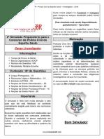 2º Simulado - PCES - Investigador