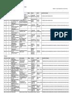 LLM Timetable Semester 1