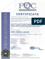 LINK - IsO Certificates