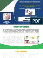 Finanzas Internacionales Factoring (1)