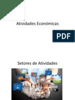 Atividades Económicas