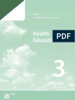 2010 Saskatchewan Curriculum Health Education