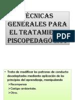 Tecnicas psicopedagogicas