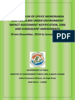 India EIA Notification December 2014 to January 2019