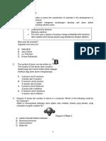 Ujian Penilaian 1 Kimia