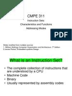 01 Instruction Sets Characteristics and Addressing Modes(1)