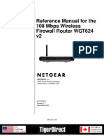Netgear WGT624 Manual