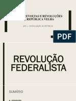 REVOLUÇÃO FEDERALISTA