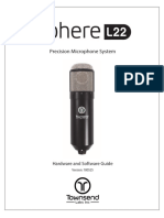 Townsend Labs Sphere L22 Microphone System User Guide