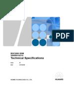 BSC6900 GSM Technical Specifications(V900R019C10_01)(XLS)-En