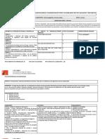 Modelo Planificación Anual 2019. UNIDAD I
