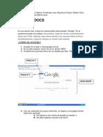 Google Docs El Que Va!!!!!