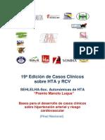 Bases para el desarrollo de casos clínicos sobre hipertensión arterial y riesgo cardiovascular