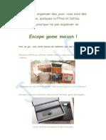 Escape Game Maison2