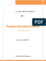 Projecto Curricular de Creche 2010-2011