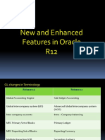 Oracle R12 Features