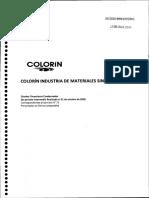Estado contable Colorín