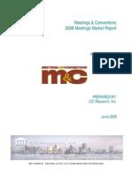 2008 Meeting Marketing Report