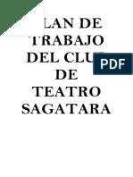 Plan Del Taller de Teatro Sagatara