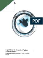 Raport Final Auditul Extern Al Managementului Inspectiei Judiciare Pentru Anul 2016