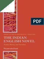 ford Studies in Postcolonial Literatures) Priyamvada Gopal-The Indian English Novel_ Nation, History, and Narration -Oxford University Press, USA (2009).pdf