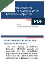 PROYECTO DE INVESTIGACIÓN Habilidades Cognitivas
