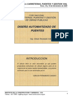 Diseño Automatizado de Puentes con SAP 2000 (Ing. Cesar ALVA.pdf