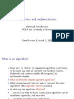 MOschovakis algorithms