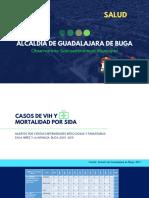 Casos de VIH y Mortalidad Por Sida_Observatorio Socioeconómico