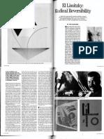 Bois, Y.-A. - 1988 - El Lissitzky. Radical reversibility.pdf