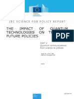 The impact of quantum technologies on the EU future policies