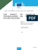 The impact of quantum technologies on the EU future policies