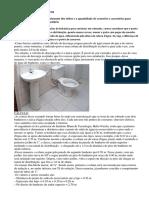Metodologia Elaboração Planilha de Quantificação de Resíduos