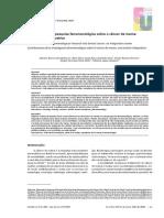 - 2018 - ART PUBLIC - Contribuições da pesquisa fenomenológica sobre o câncer de mama- uma revisão integrativa