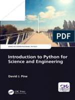 [Series in Computational Physics] David J. Pine - Introduction to Python for Science and Engineering (2019, CRC Press).pdf