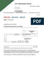 MID 082 CID 2331 FMI 05