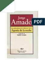 Amado, Jorge - Los Subterráneos de la Libertad 02 - Agonía de la Noche [doc]