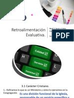 Retroalimentación Evaluativa POR TEMAS