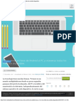 Cómo Enviar Archivos de Android Al PC y Viceversa Todos Los Métodos Disponibles