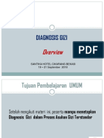3. Diagnosis Gizi- Overview