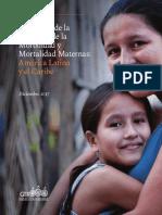 Panorama de la Situación de la Morbilidad y Mortalidad Maternas