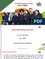 Matriz DOFA Proyecto de Vida 5 de Marzo