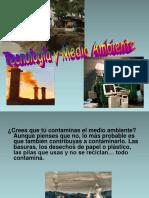 Tecno9logía y Medio Ambiente