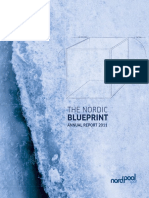 Nord Pool Spot. the Nordic Blueprint. Annual Report 2011. 2011